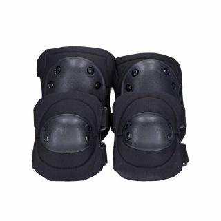 Ochraniacze łokci i kolan Guerilla Tactical black
