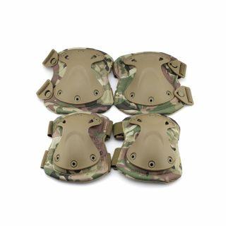 Ochraniacze łokci i kolan Guerilla Tactical Future Multicam