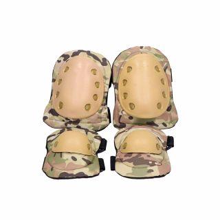 Ochraniacze łokci i kolan Guerilla Tactical multicam
