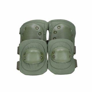 Ochraniacze łokci i kolan Guerilla Tactical olive