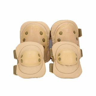 Ochraniacze łokci i kolan Guerilla Tactical tan