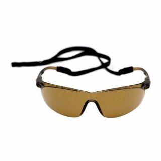 Okulary ochronne 3M Peltor Tora - brązowe