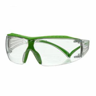 Okulary ochronne 3M SecureFit 400X Green - bezbarwne