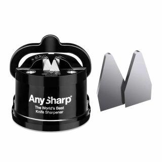 Ostrzałka do noży AnySharp Classic PL Black + płytki