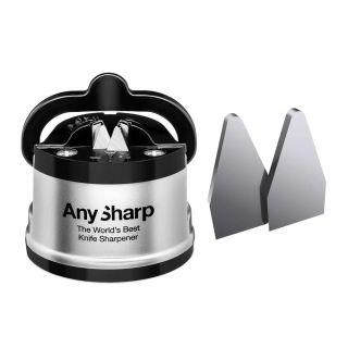 Ostrzałka do noży AnySharp Classic PL Silver + płytki