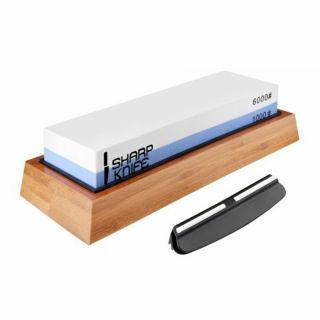 Ostrzałka kamień wodny Sharp Knife 1000/6000 + Zestaw