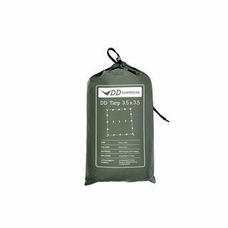 Płachta biwakowa - Tarp DD Hammocks 3.5x3.5 - Olive