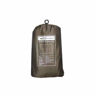 Płachta biwakowa - Tarp XL 4.5x3 - DD Hammocks - Coyot Brown