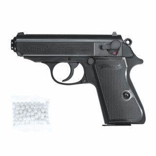 Airsoft Pistolet Walther PPK/S 6 mm ASG Sprężynowy