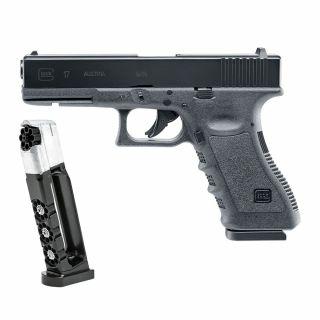 Pistolet Glock 17 kal. 4,5 mm Diabolo / BB - wiatrówka CO2