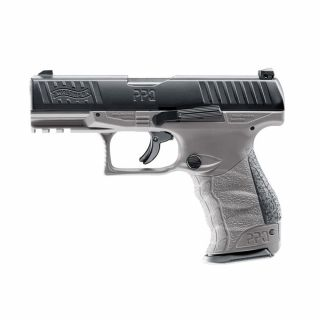 Pistolet na kule gumowe Walther PPQ M2 T4E MILITARY GRAY kaliber .43 cala