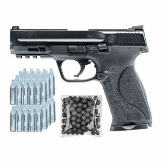 Pistolet RAM Smith & Wesson M&P 9 2.0 ZESTAW CO2 50 KULE 100