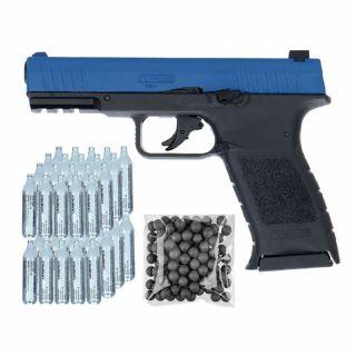 Pistolet RAM TPM 1 Law Enforcement + ZESTAW CO2 50 KULE 100