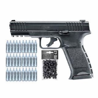 Pistolet RAM TPM 1 T4E .43 + ZESTAW CO2 30 szt Kule 100 szt