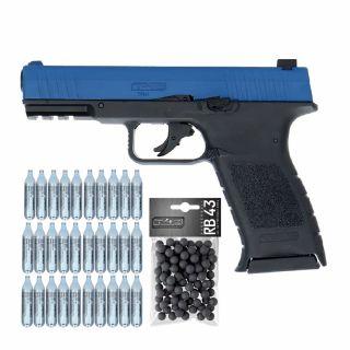 Pistolet RAM TPM 1 T4E Law Enforcement + ZESTAW CO2 KULE 100