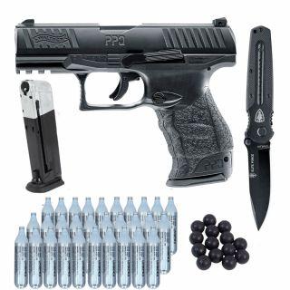 Zestaw Walther PPQ M2 z nożem
