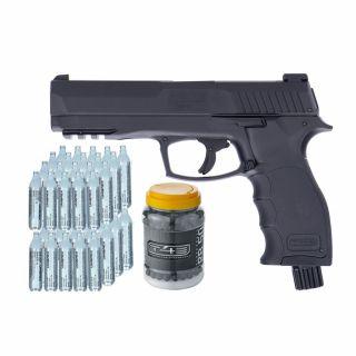 Pistolet Umarex HDP 50 kal. 50 + ZESTAW 50 szt CO2 Kule 500