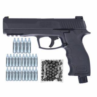 Pistolet Umarex HDP 50 RAM T4E + ZESTAW CO2 25 KULE 100
