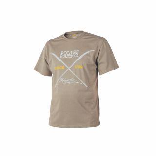 T-Shirt Helikon Polish Multitool Beż XXXL/Reg
