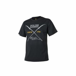 T-Shirt Helikon Polish Multitool Czarna L/Reg
