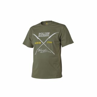 T-Shirt Helikon Polish Multitool Olive Green XXL/Reg