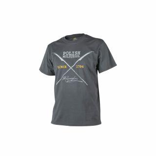 T-Shirt Helikon Polish Multitool Shadow Grey S/Reg