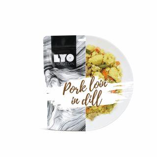 Żywność liofilizowana LYO Food Schab w sosie koperkowym 370g