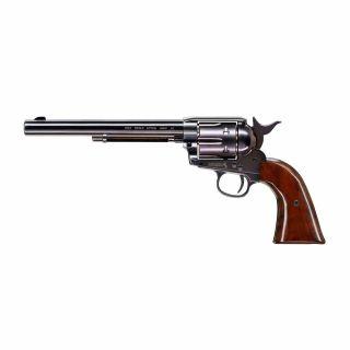 "Wiatrówka Rewolwer Colt SAA 45 Peacemaker Blued 7,5"""