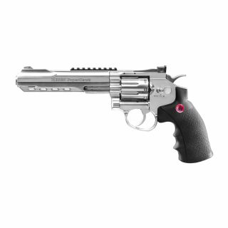 """Airsoft Rewolwer Ruger SuperHawk 6"""" 6 mm CO2 Chrom Bicolor"""