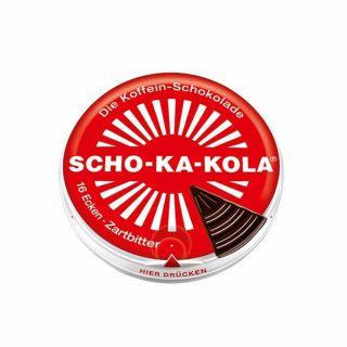 Czekolada Scho-Ka-Kola gorzka z kofeiną