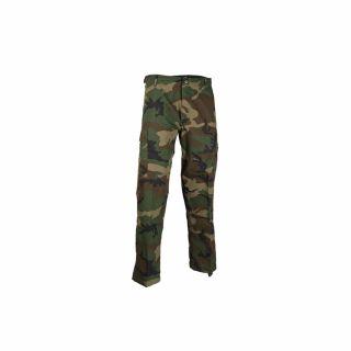 Spodnie wojskowe Mil-Tec Teesar RipStop BDU Woodland