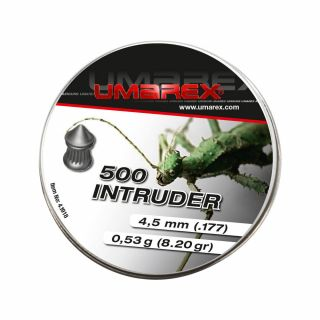 Śrut szpiczasty 4,5 mm Umarex Intruder Pointed, ribbed