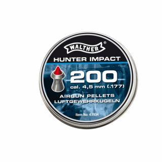 Śrut Walther Hunter Impact Diabolo 4.5 mm 200 szt