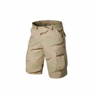 Krótkie Spodnie Helikon BDU Cotton Ripstop US Desert S/Reg