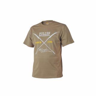 T-Shirt Helikon Polish Multitool Coyote L/Reg