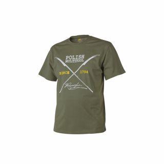 T-Shirt Helikon Polish Multitool Olive Green XXXL/Reg