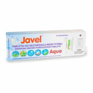 Tabletki Javel Aqua do uzdatniania wody 20 szt