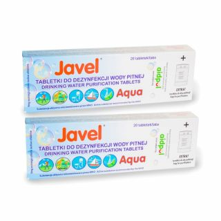 Tabletki Javel Aqua do uzdatniania wody 40 szt