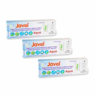 Tabletki Javel Aqua do uzdatniania wody 60 szt