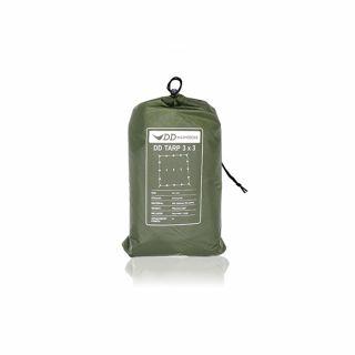 Płachta biwakowa DD Hammocks Tarp 3x3 Forest Green Limited