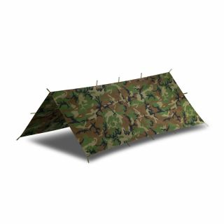 Płachta biwakowa Helikon Supertarp Small - US Woodland