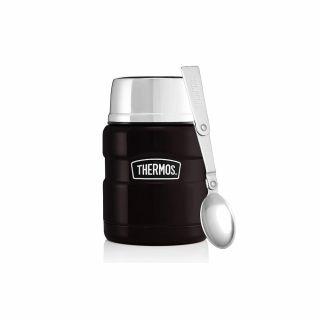 Termos obiadowy Thermos King Food Jar 0.47L Matt Black