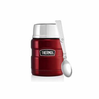 Termos obiadowy Thermos King Food Jar 0.47L Red