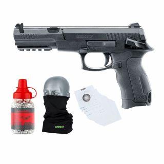 Wiatrówka Pistolet Umarex DX17 4,5 mm + śrut 1500 + tarcze
