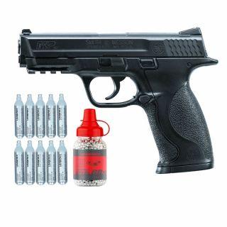 Wiatrówka pistolet Smith & Wesson M&P 40 4,5 mm z zestawem akcesoriów