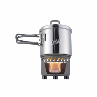 Zestaw do gotowania Esbit SOLID FUEL COOKSET STAINLESS STEEL