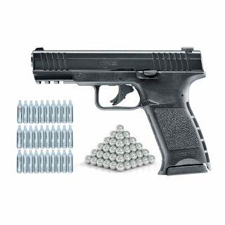 Pistolet RAM TPM 1 T4E .43 + ZESTAW 30 CO2 100 kule stal
