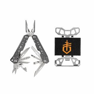 Multitool Gerber Gear Truss + Portfel Wallet Gift Tin