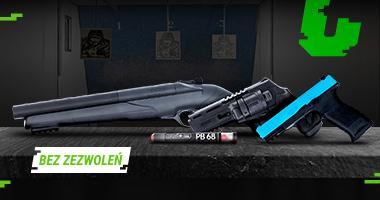 Pistolety RAM — trenuj i broń się
