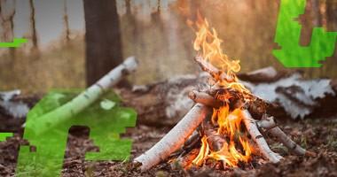 Jak bezpiecznie palić ognisko?